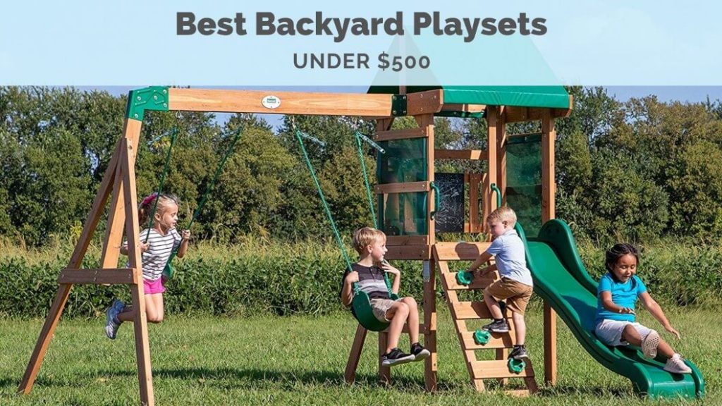 Image of: The Best Backyard Playsets Swing Sets 2020 Buying Guide