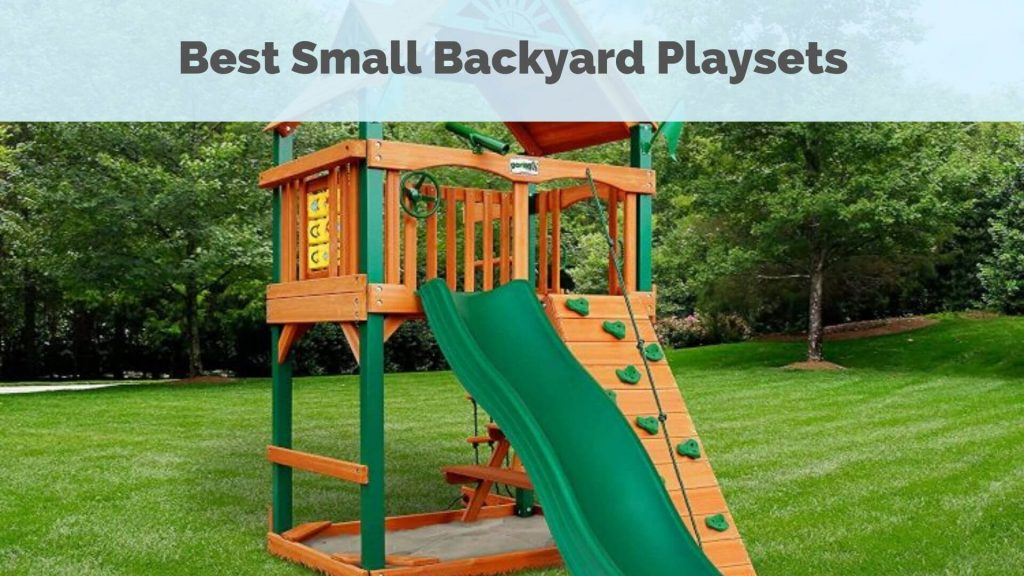 Image of: Small Backyard Playsets The 10 Best Playsets For Small Yards